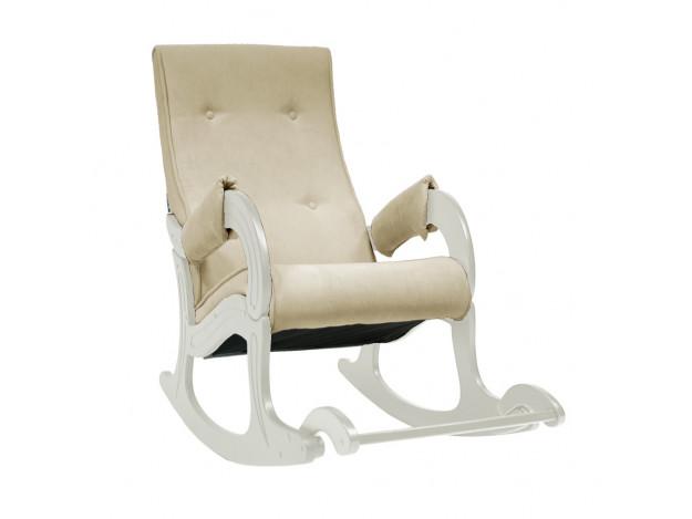 Кресло-качалка, мод 707 дуб шампань/ ваниль