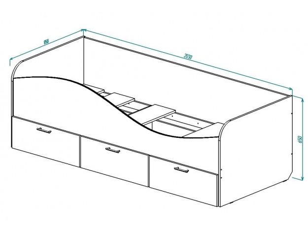 """Кровать детская """"КР-3"""""""