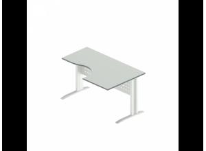Стол интегральный на металлокаркасе АМК-33R\L (Агат)